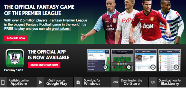 fantasy premier league 2015/2016